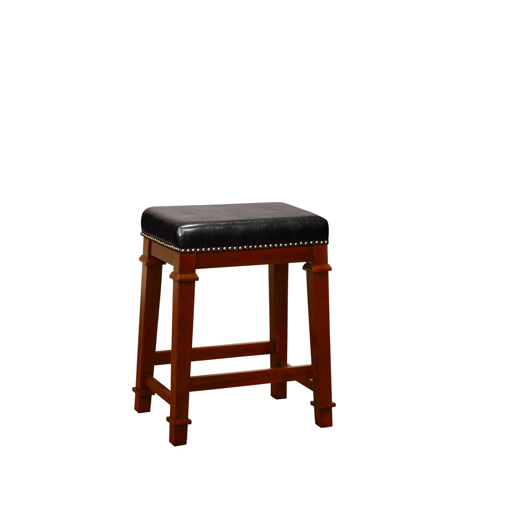 Kennedy Backless PU Counter Stool. Picture 1