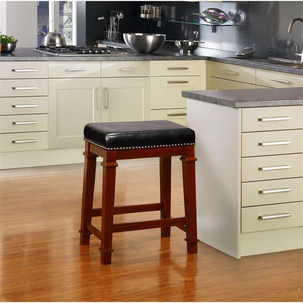 Kennedy Backless PU Counter Stool. Picture 2