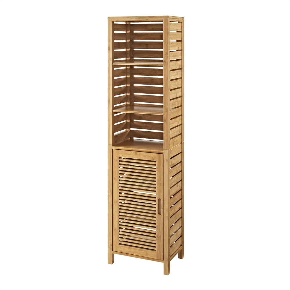 Bracken Tall Cabinet Natural Bamboo