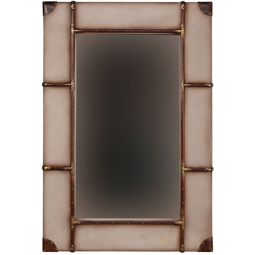 Vintage framed wall mirror large Large mirror on wall