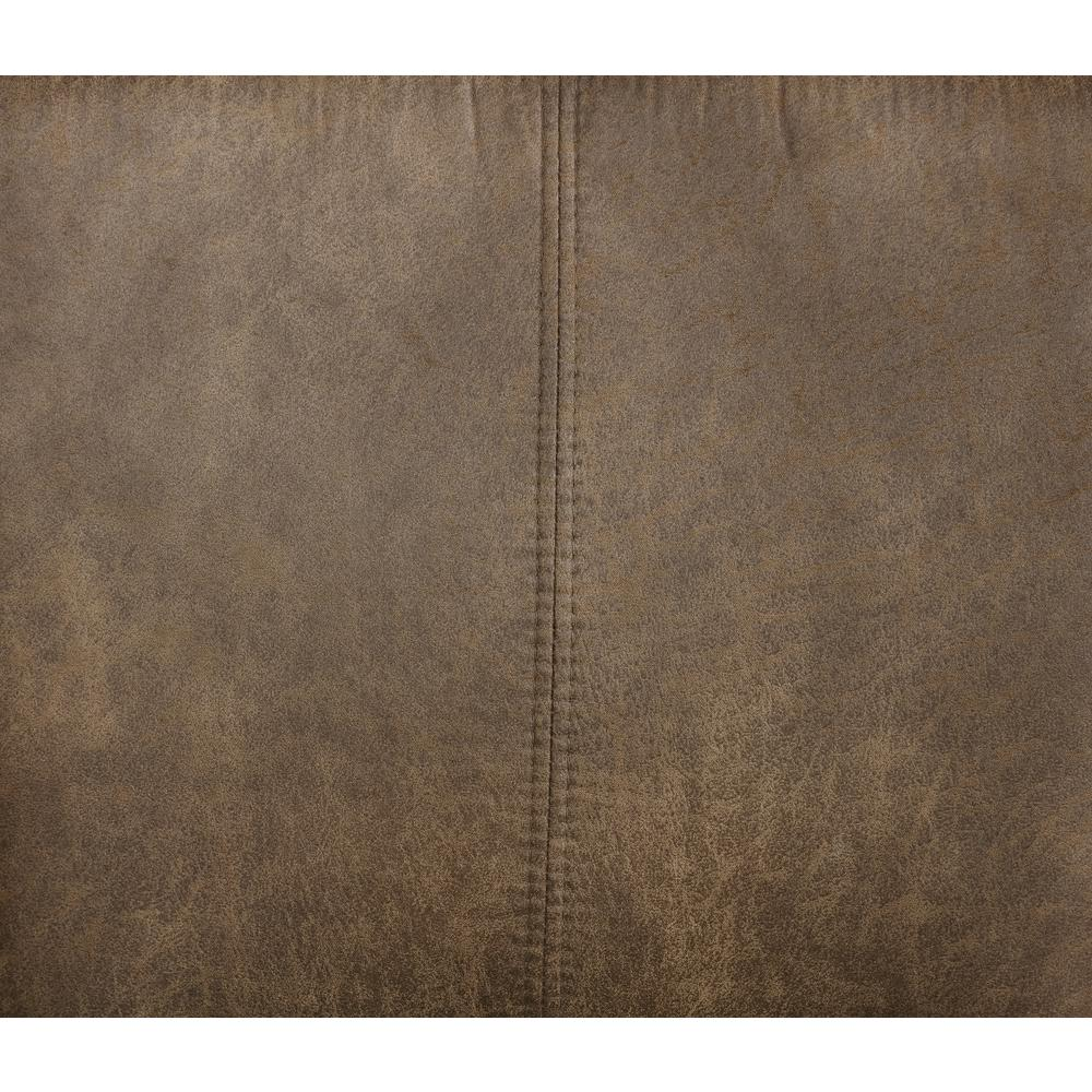 Morocco Distressed Brown Bar Stool. Picture 5