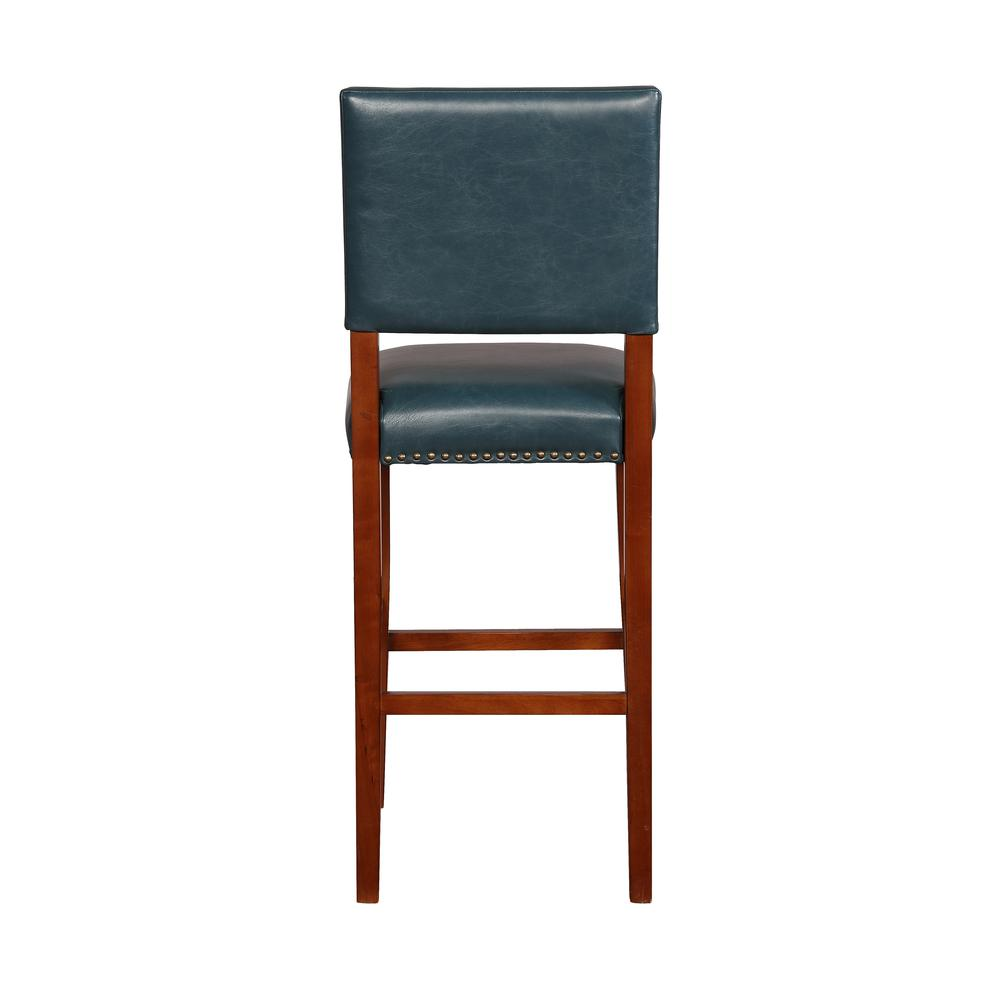 Brook Pacific Blue Bar Stool. Picture 2
