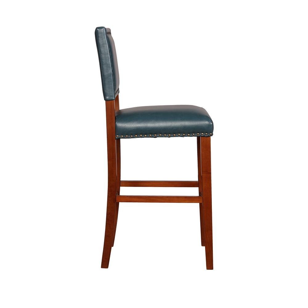 Brook Pacific Blue Bar Stool. Picture 3