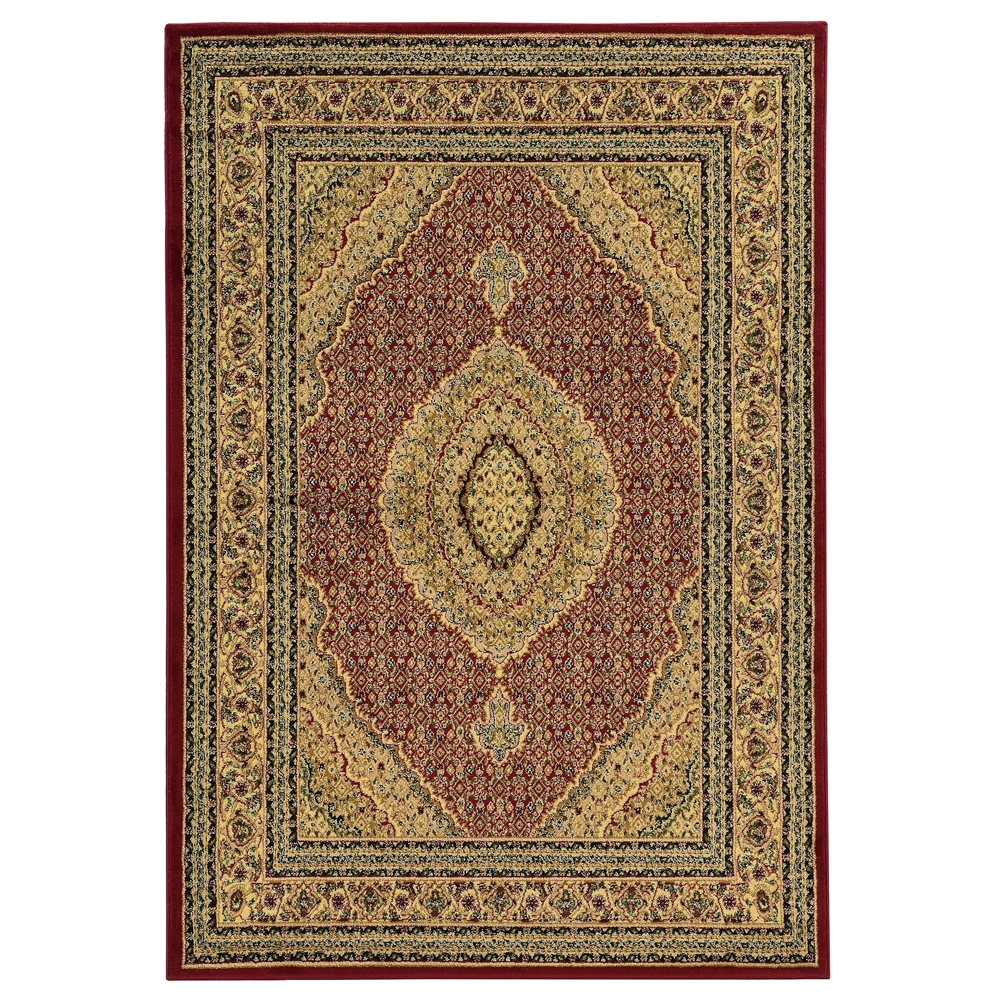 Elegance Mahi Red Rug, Size 8' X 10'. Picture 1