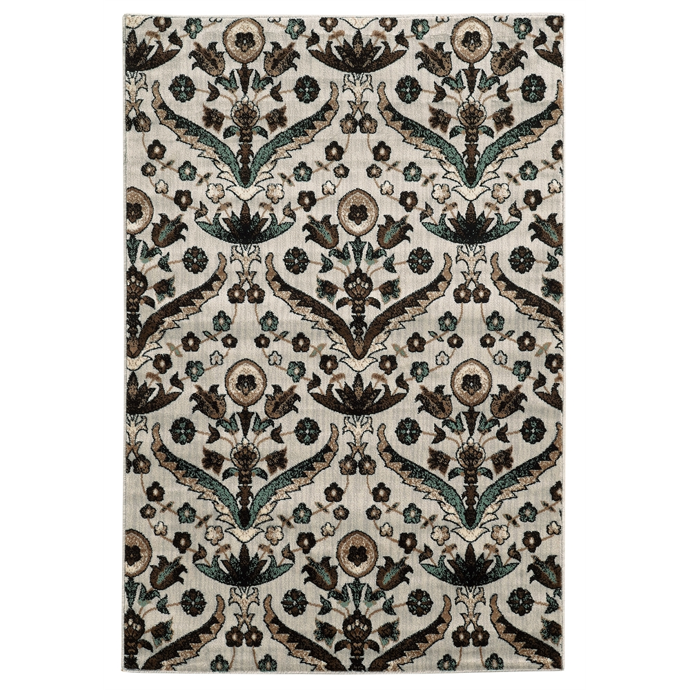 Elegance Chateau Blue Rug, Size 2' X 3'. Picture 1