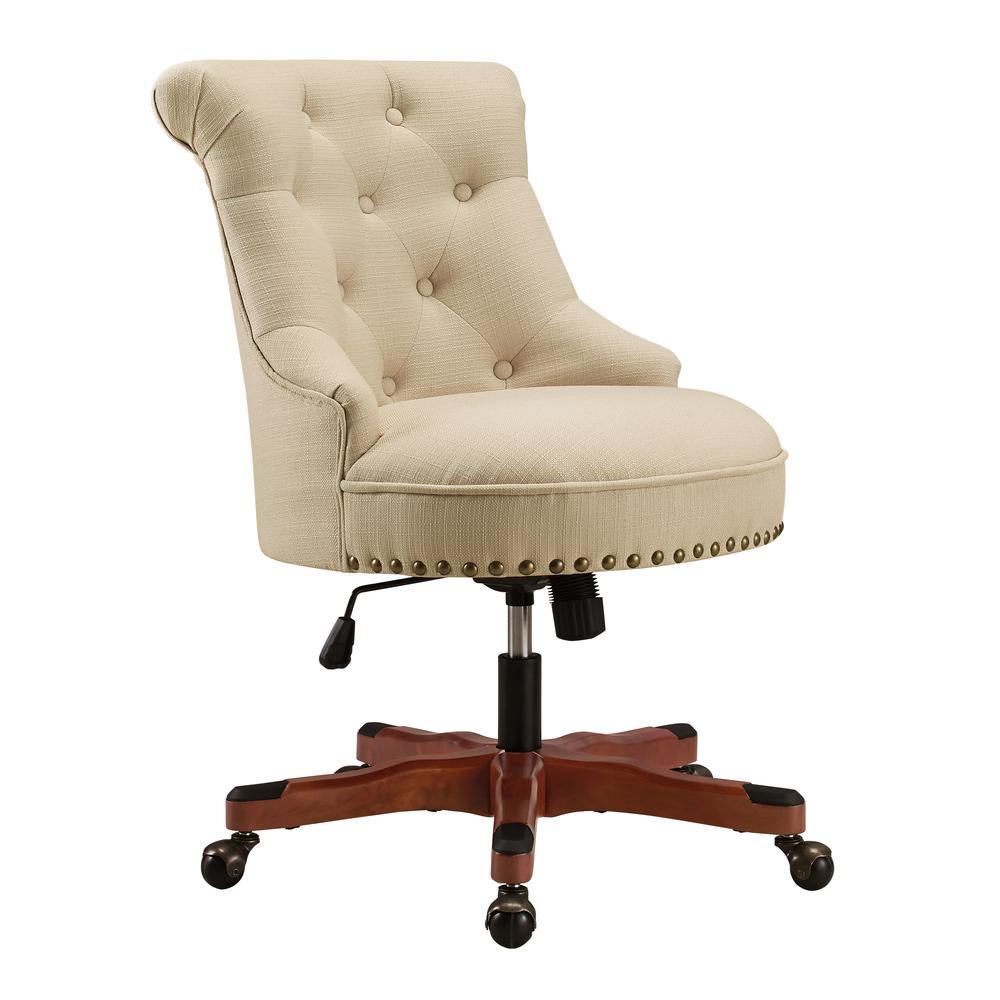 Sinclair Office Chair, Beige