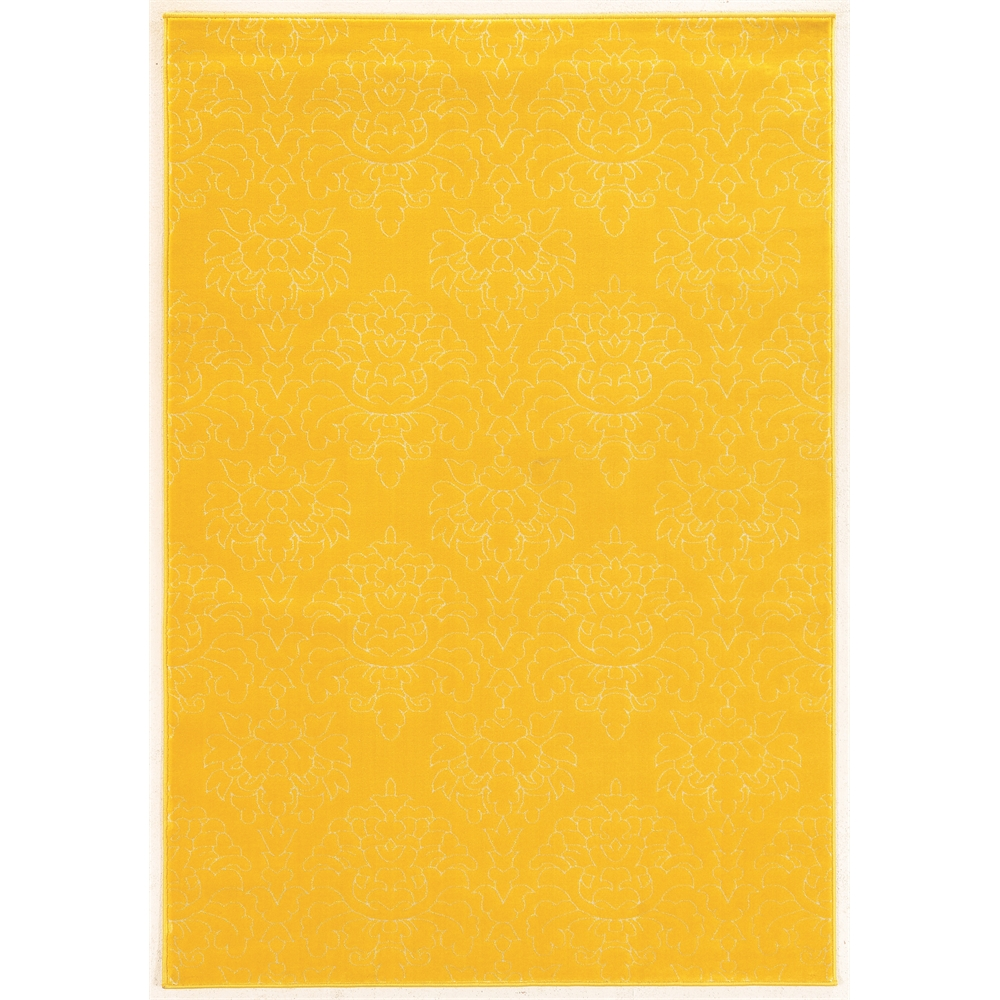 """Prisma Chloe Yellow Rug, Size 5'3""""x7'6"""". Picture 1"""