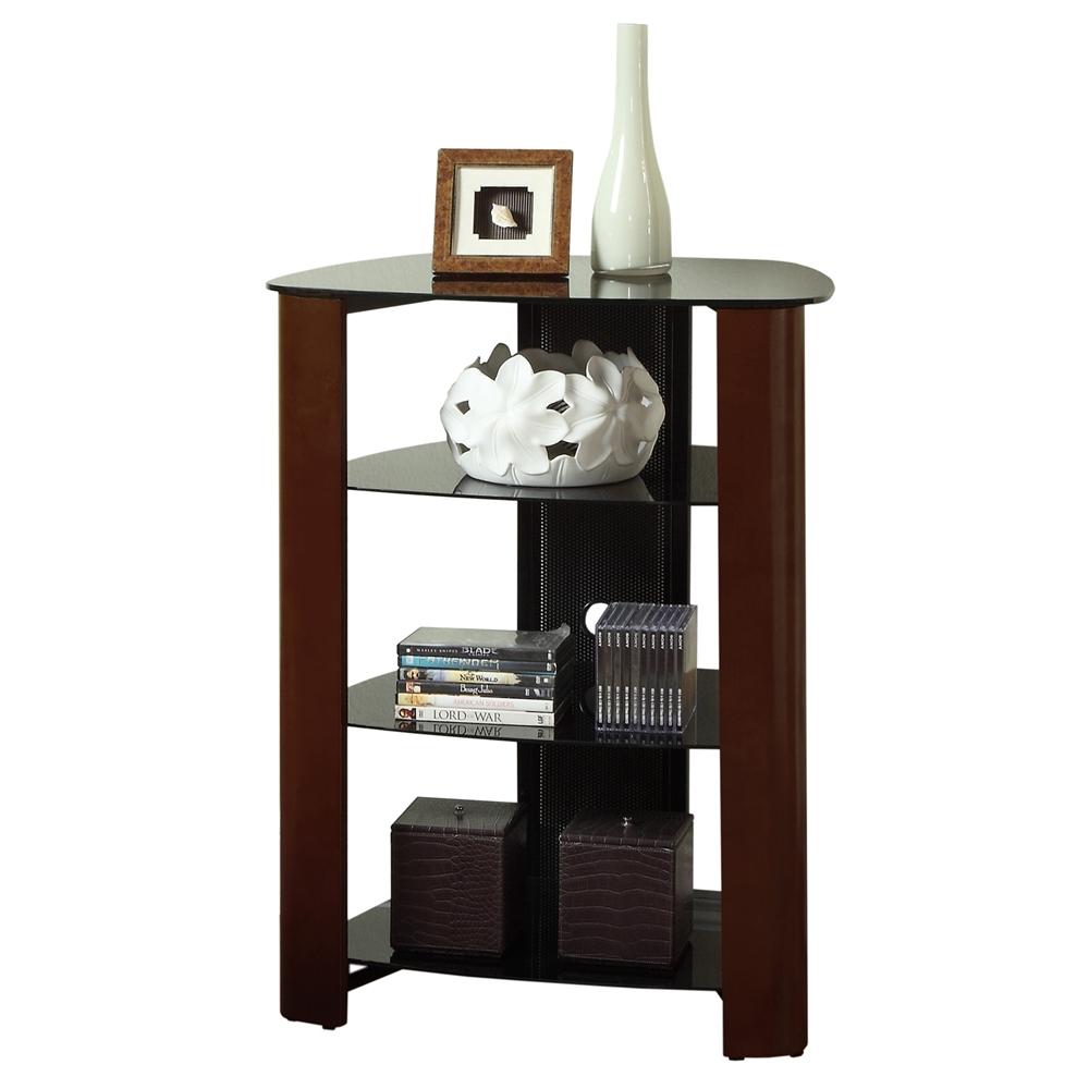 35 Quot Multilevel Component Stand Espresso