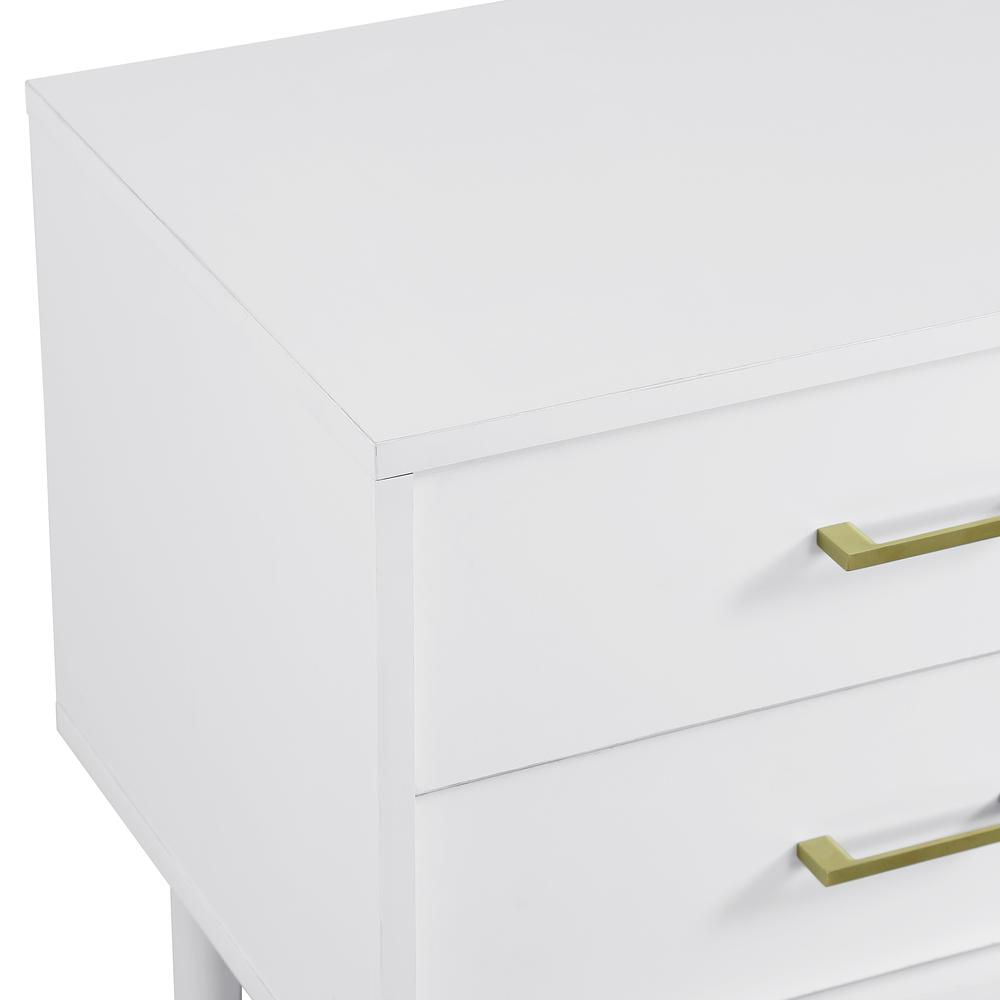 Modern Side Table - White. Picture 5