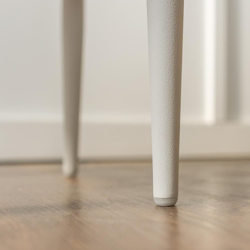 Modern Side Table - White. Picture 8