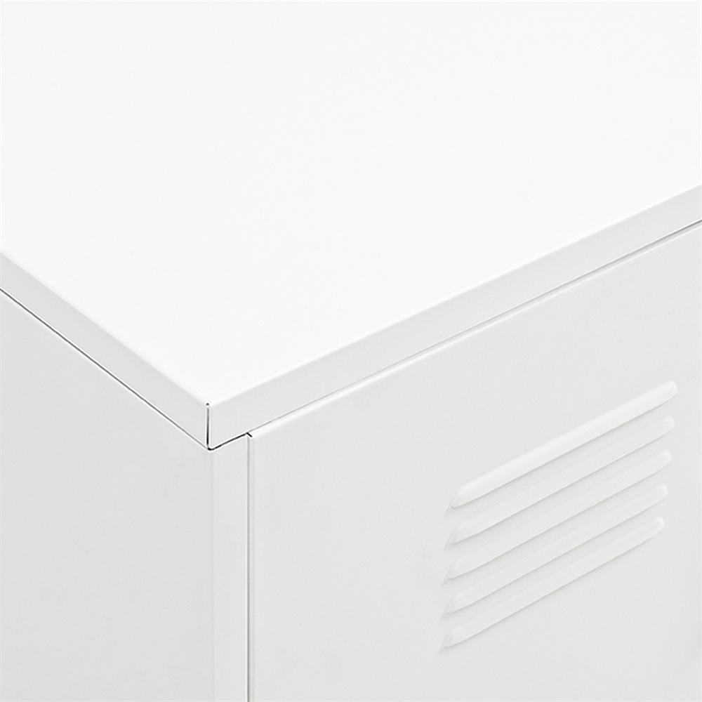 "48"" Metal Locker Style Storage Bench. Picture 3"