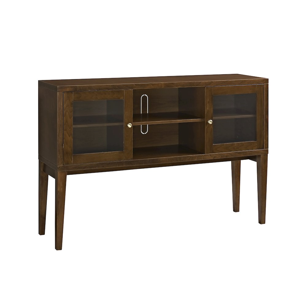 52 Quot Hepworth Wood Buffet With Tapered Legs Walnut