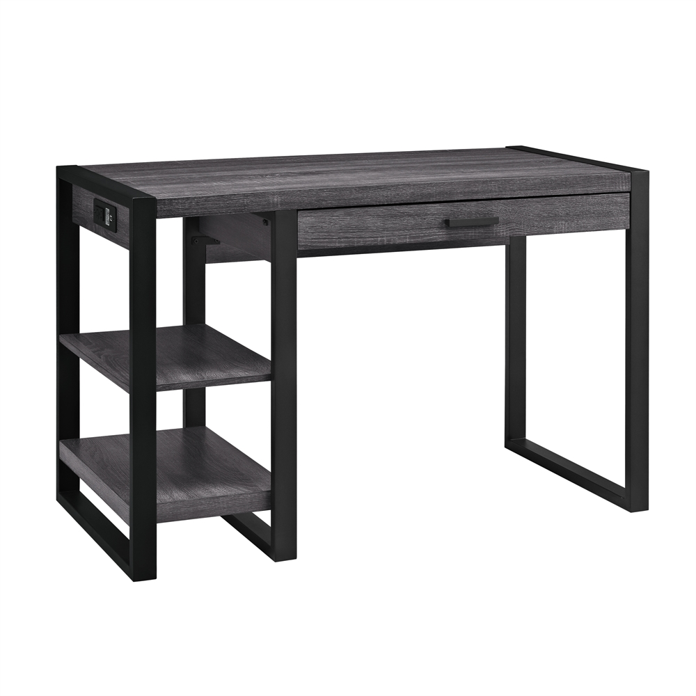 48 Quot Urban Blend Computer Desk Charcoal