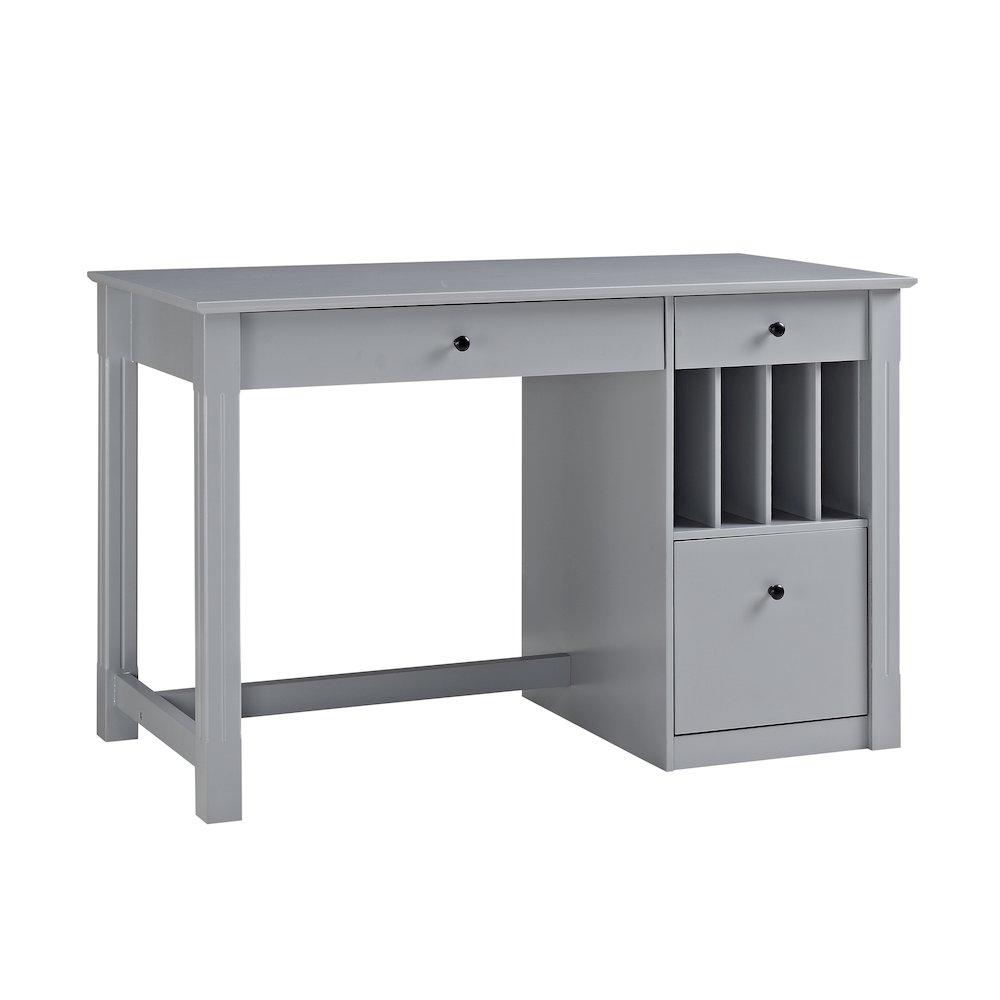 Home Office Deluxe Wood Storage Computer Desk