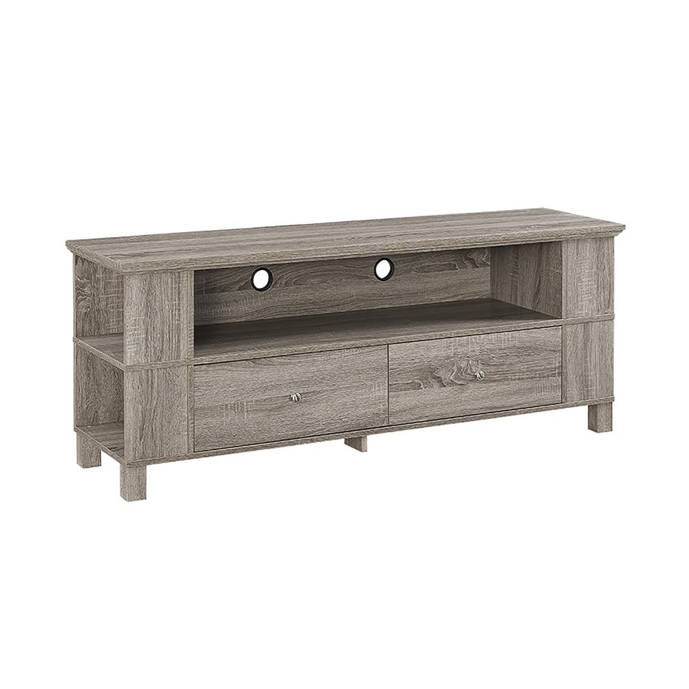 """60"""" Wood TV Stand"""
