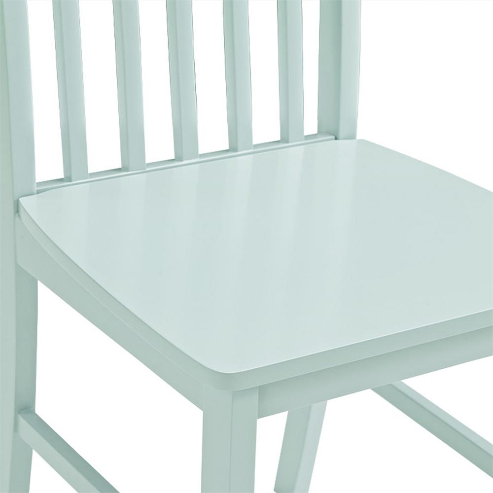 Greyson 5-Piece Dining Set - White/Sage. Picture 4