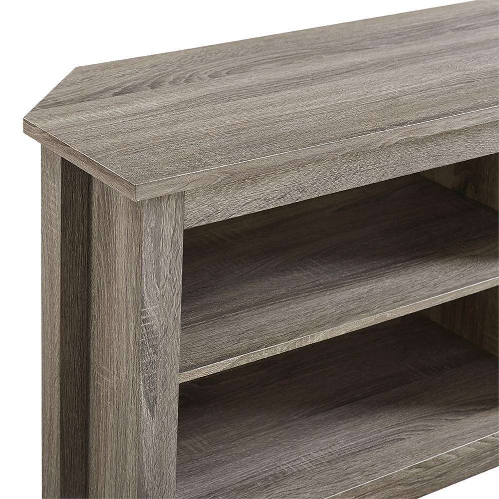 58 Quot Corner Tv Stand Driftwood