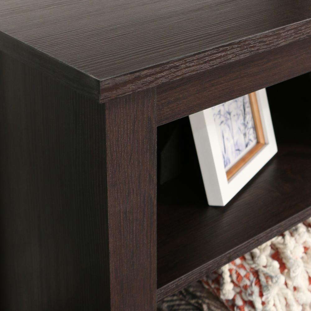 "58"" Espresso Wood TV Stand Console. Picture 5"