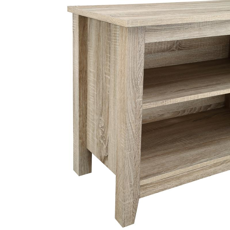 """58"""" Natural Wood TV Stand Console. Picture 4"""