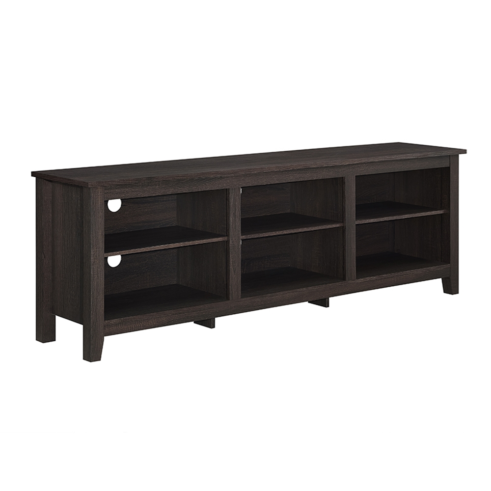 70 Quot Essentials Tv Stand Espresso