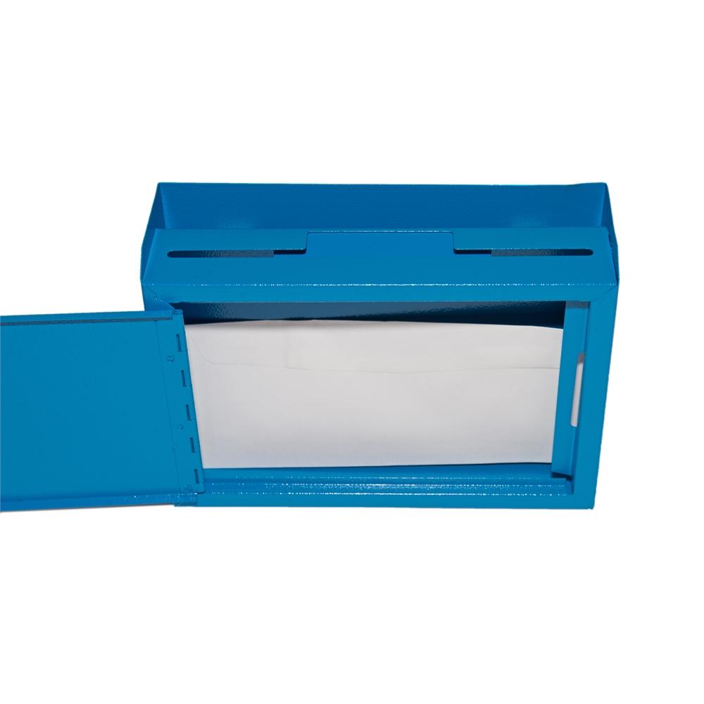 Deluxe Steel Drop Box Blue