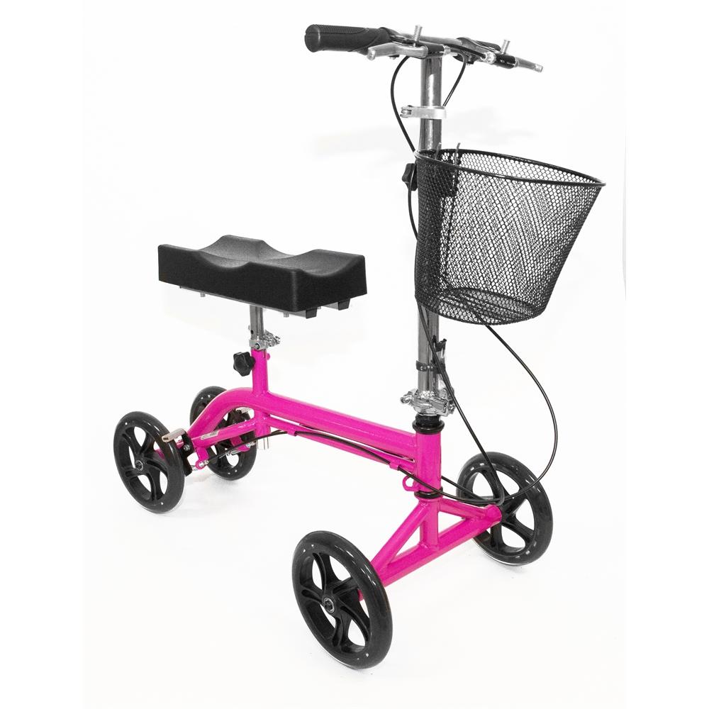 Steerable Knee Walker-Pink