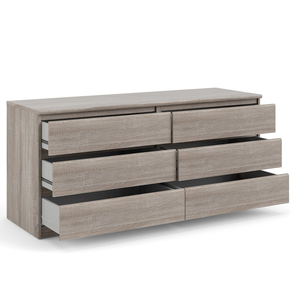 Scottsdale 6 Drawer Double Dresser, Truffle. Picture 8