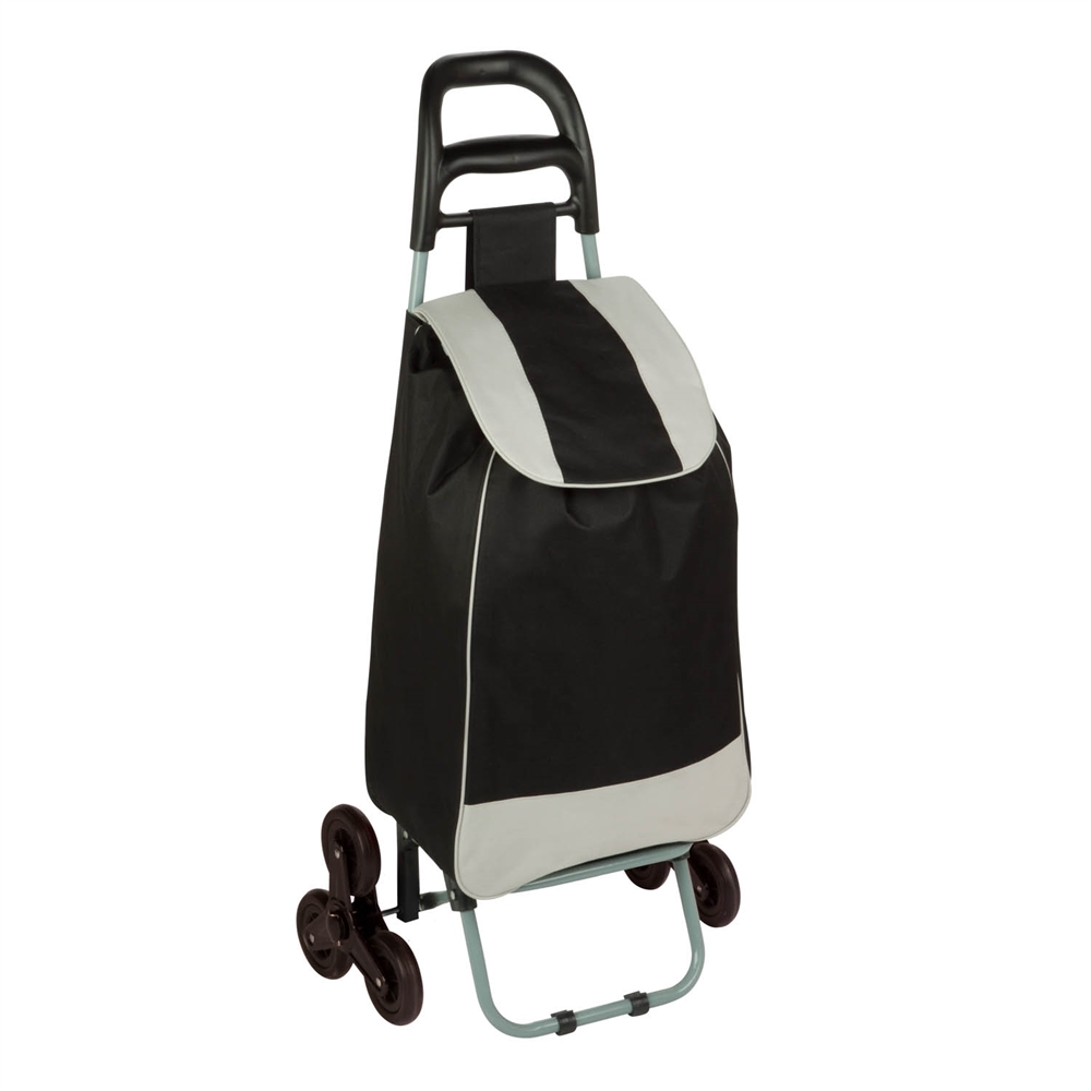 Bag Cart With Tri Wheels Black
