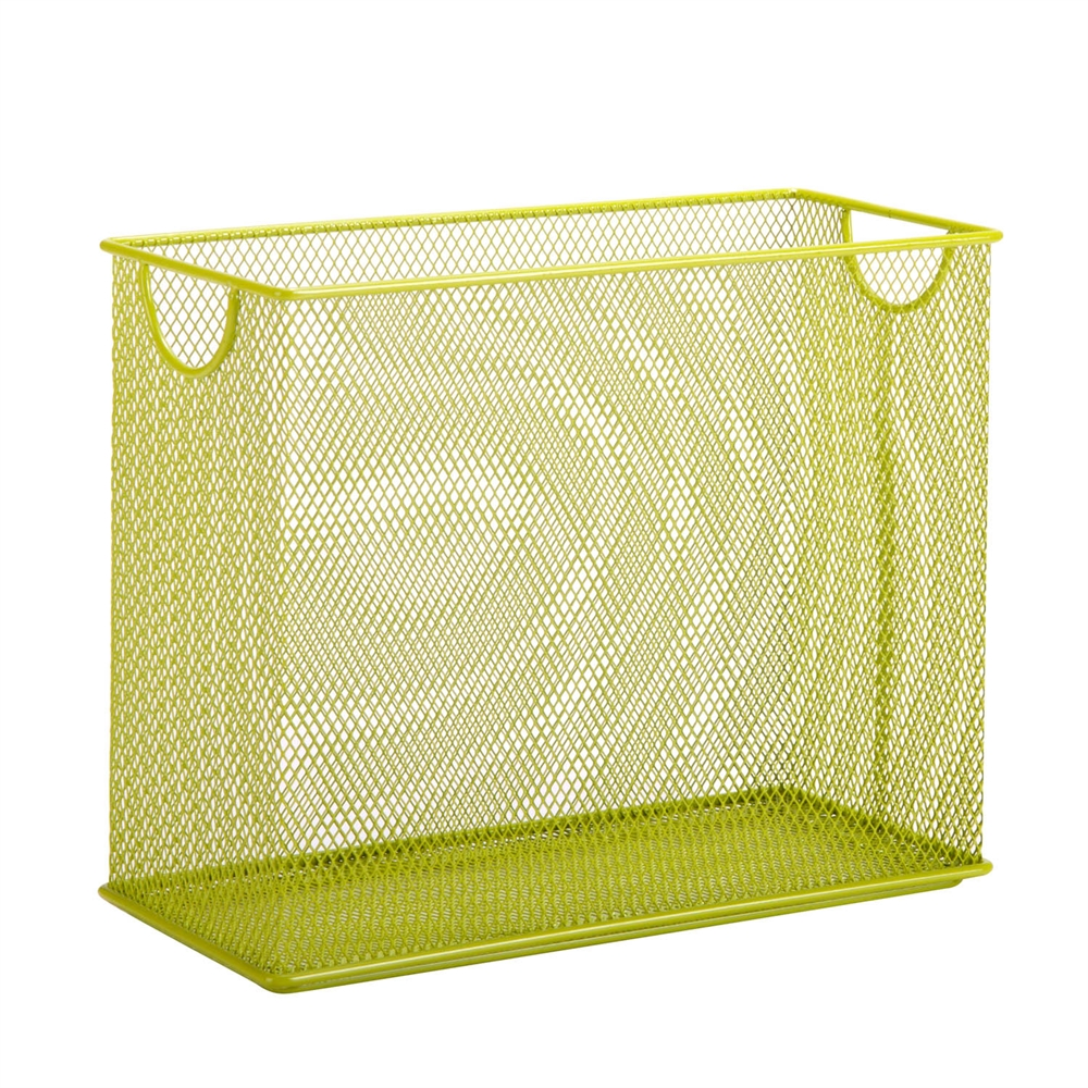 Table Top Hanging File Organizer Lime