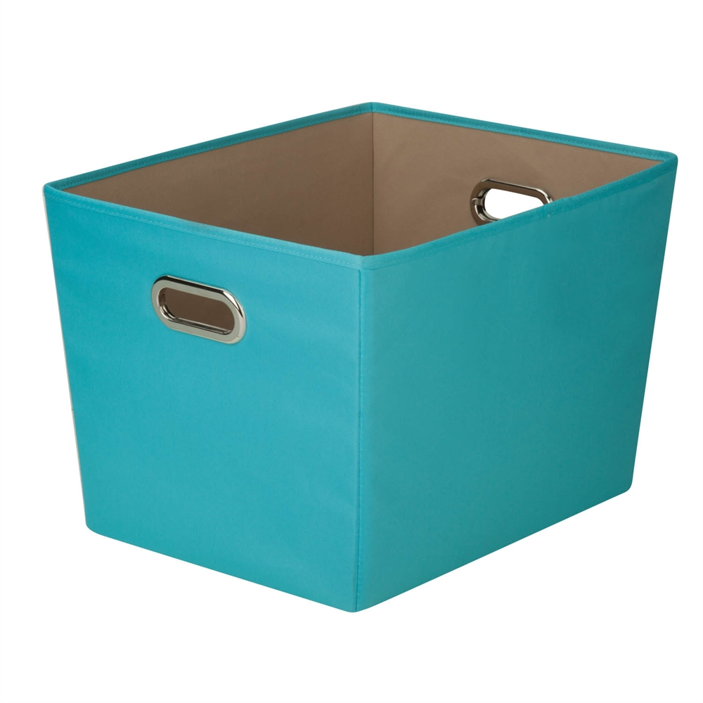 Blue Bedroom Bin