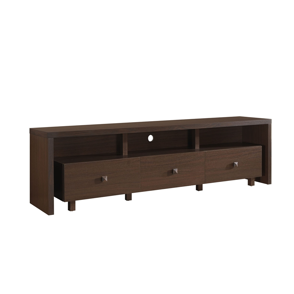Elegant TV Stand For TVs Up To 70 With Storage Color