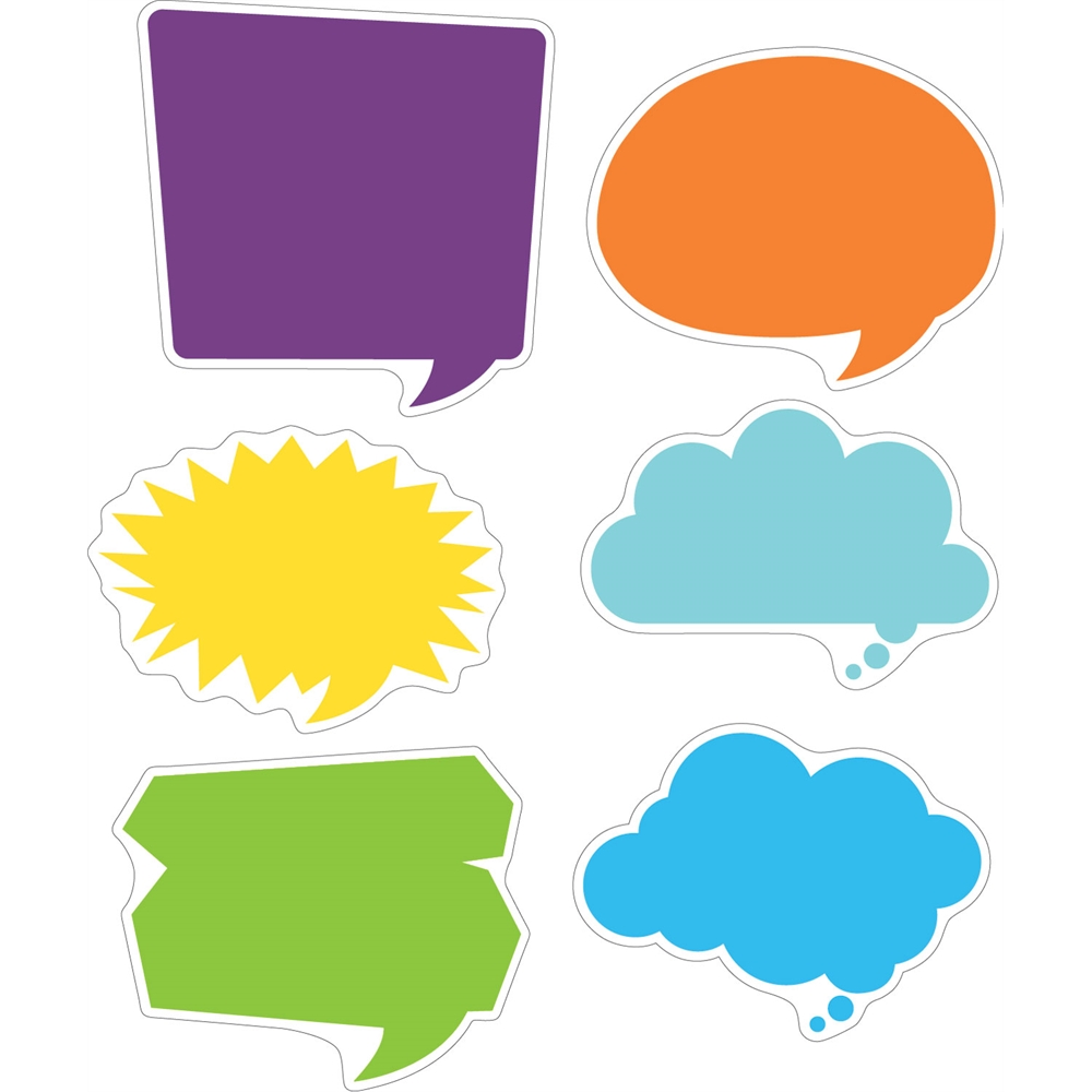Double Sided Accents Happy Talk Set Of 36