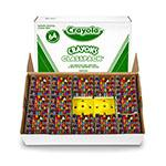 BINNEY & SMITH / CRAYOLA Classpack Regular Crayons, Assorted, 13 Caddies, 832/Box. Picture 2