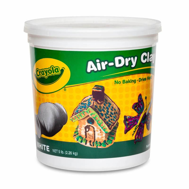 BINNEY & SMITH / CRAYOLA Air-Dry Clay, White, 5 lbs. Picture 1