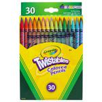 BINNEY & SMITH / CRAYOLA Twistables Colored Pencils, Nontoxic, 30 Assorted Colors/Pack. Picture 2