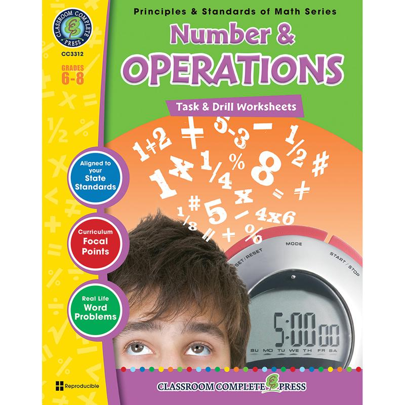 Gr 6 8 Math Task Amp Drill Number Amp Operations