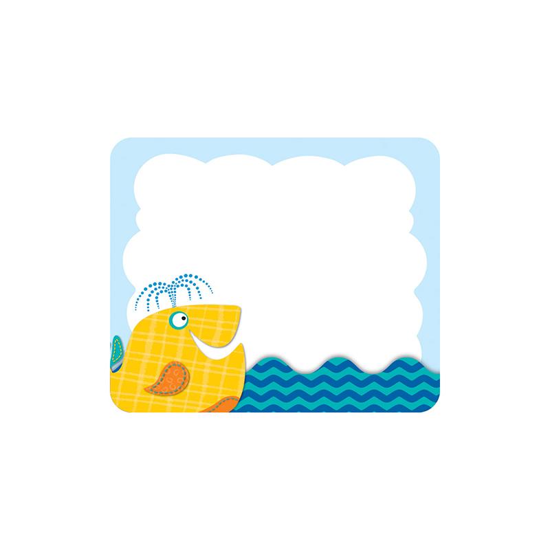 Seaside Splash Name Tags