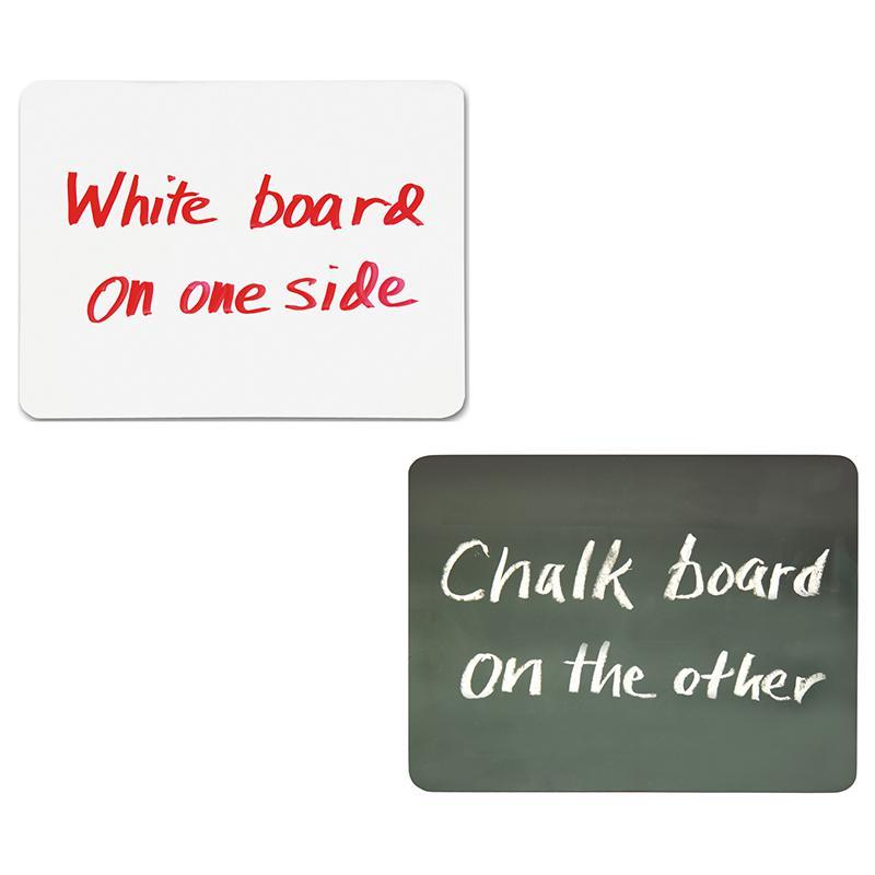 COMBO CHALK & WHITE BOARD 10PK CLASSPACK 9 X 12. Picture 1