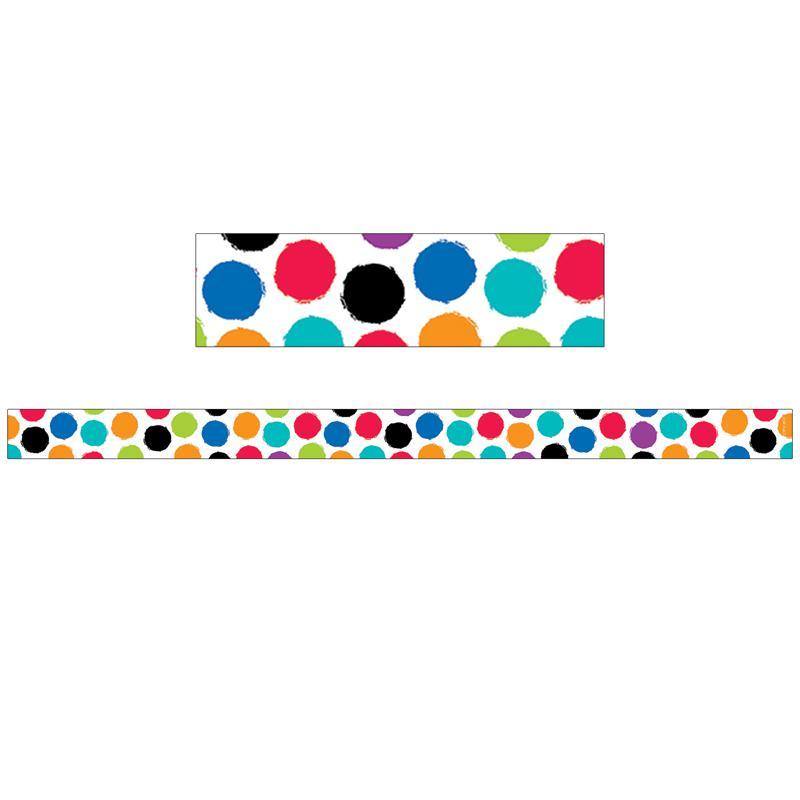 Small Colorful Spot Magnetic Strips Bold Bright Decor