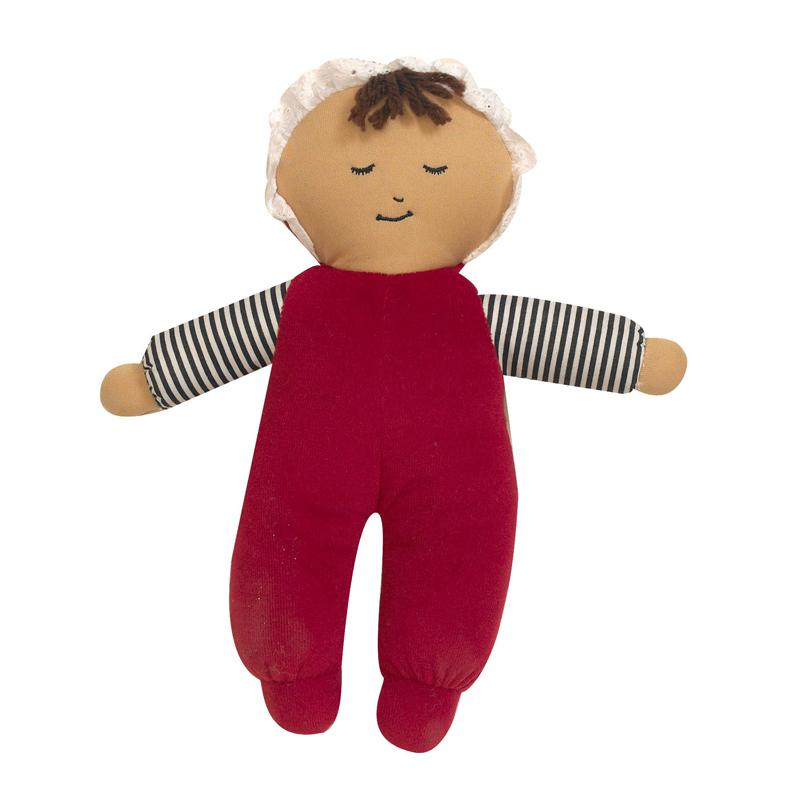 Baby'S First Doll Hispanic Girl. Picture 1