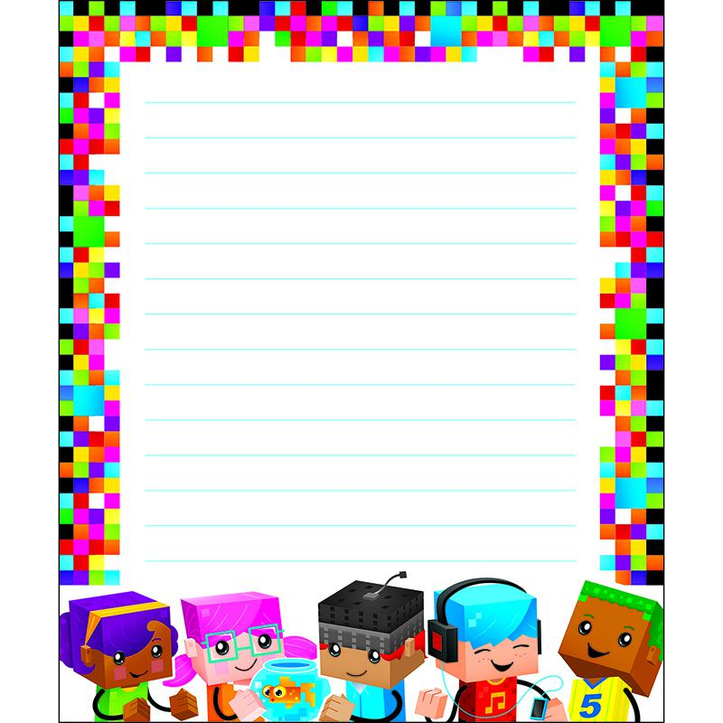 Trend Enterprises Blockstars Note Pad
