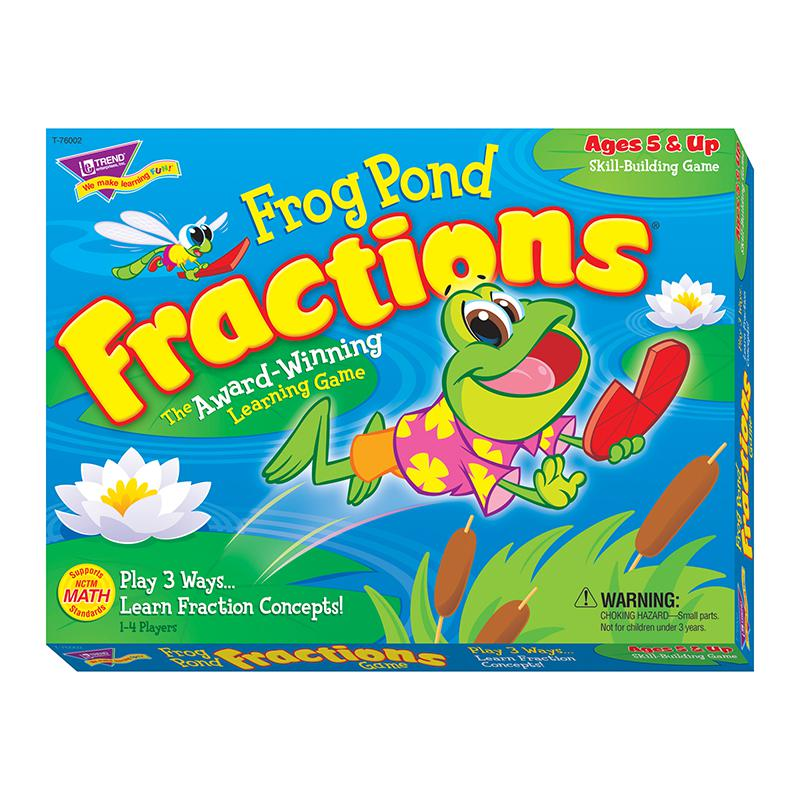 Frog Pond Fractions Game Ages 5 Amp Up