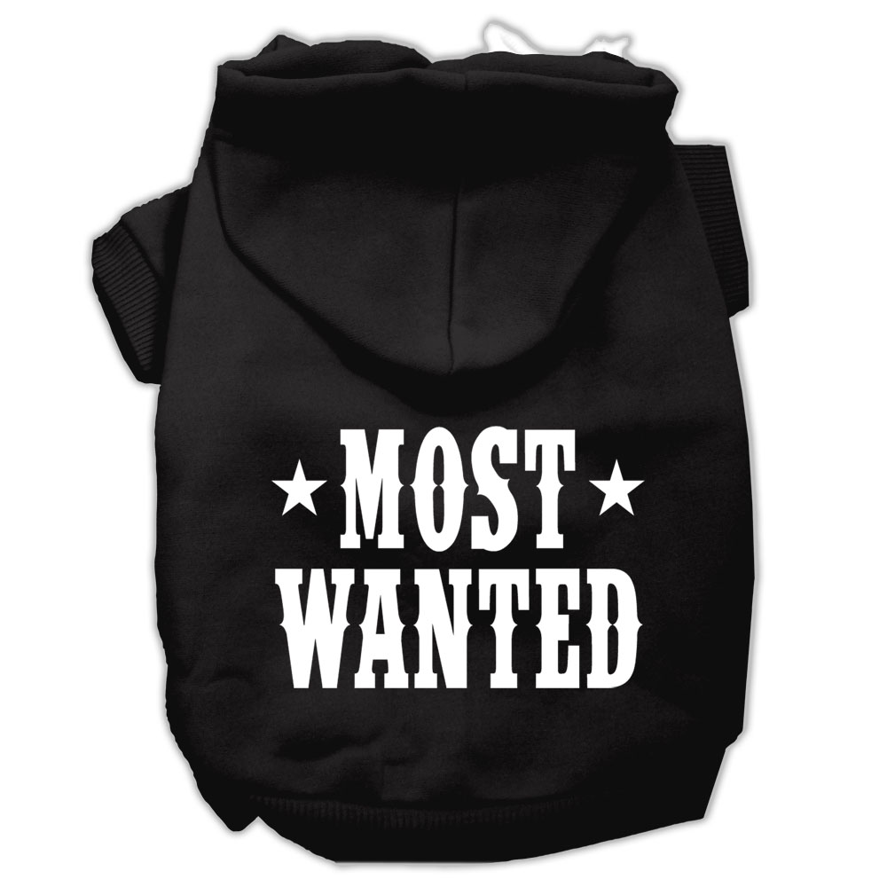 Mirage Pet Products Most Wanted Screen Print Pet Hoodies
