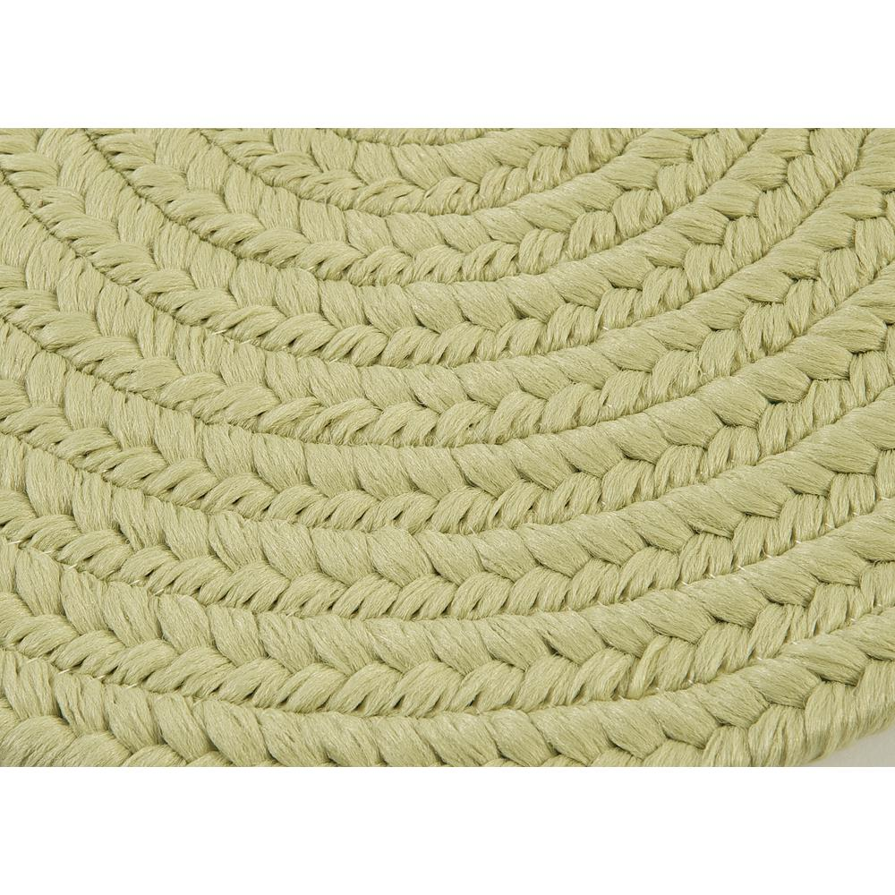 Reversible Flat Braid Oval Runner Sprout Green 2 4 Quot X7