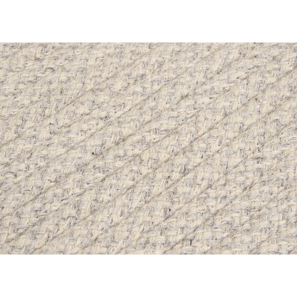 Natural Wool Houndstooth Cream 5 Square