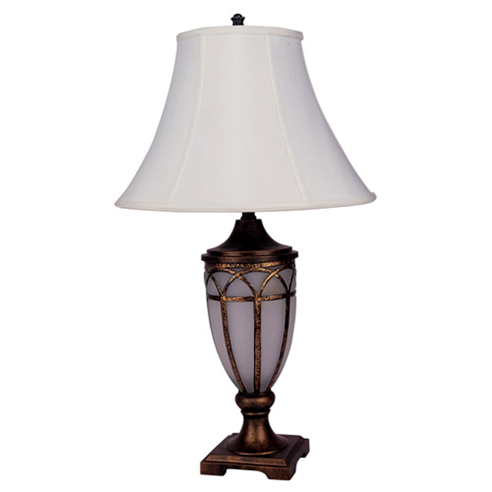 "31"" Table Lamp With Night Light. Picture 1"