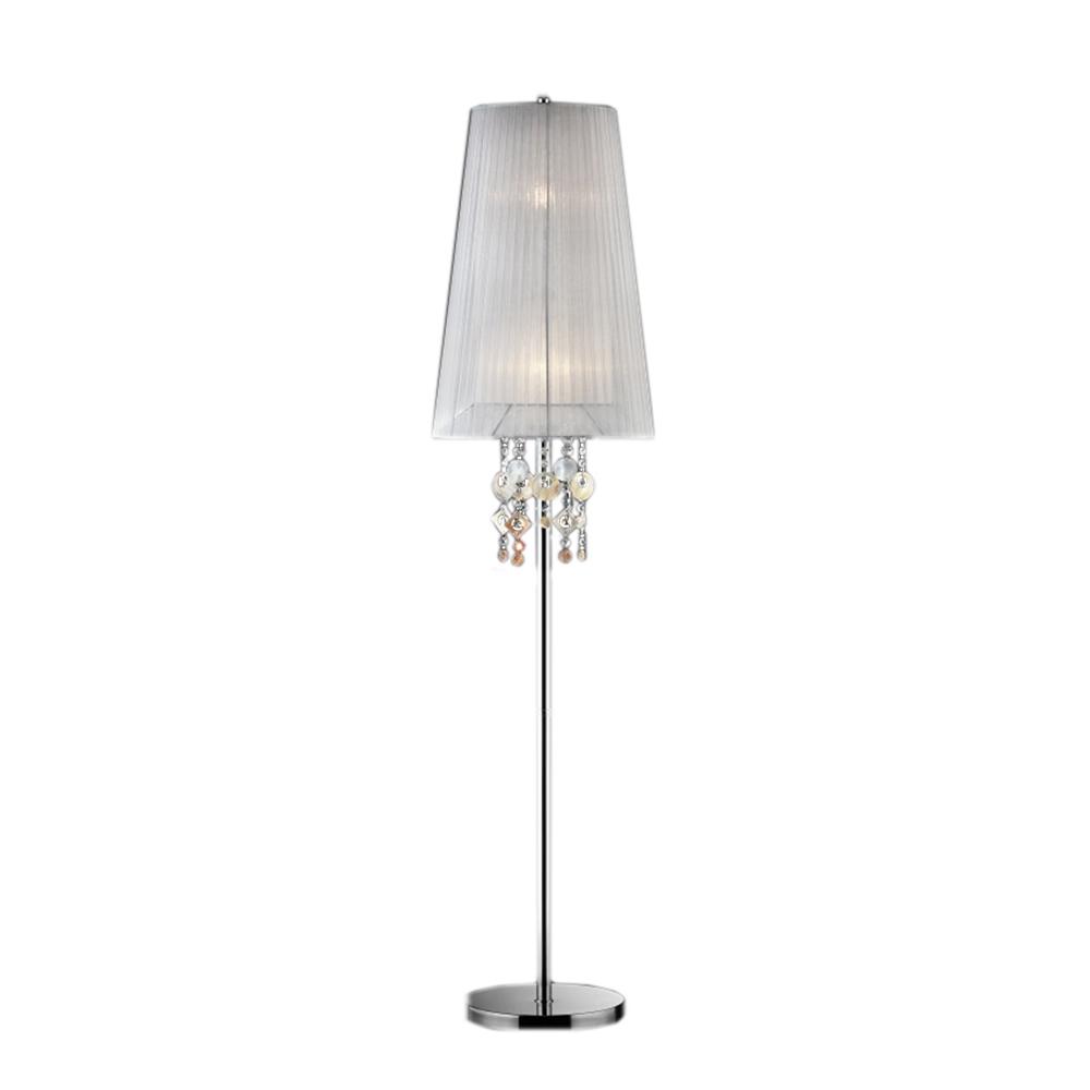 62.5''H Moon Jewel Floor Lamp. Picture 1