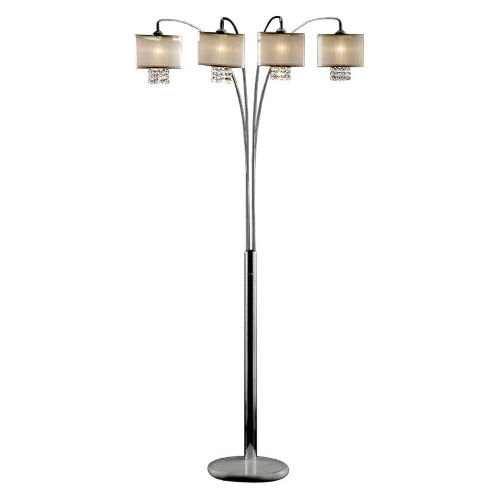 "84""H Simple Elegance Arch Floor Lamp. The main picture."