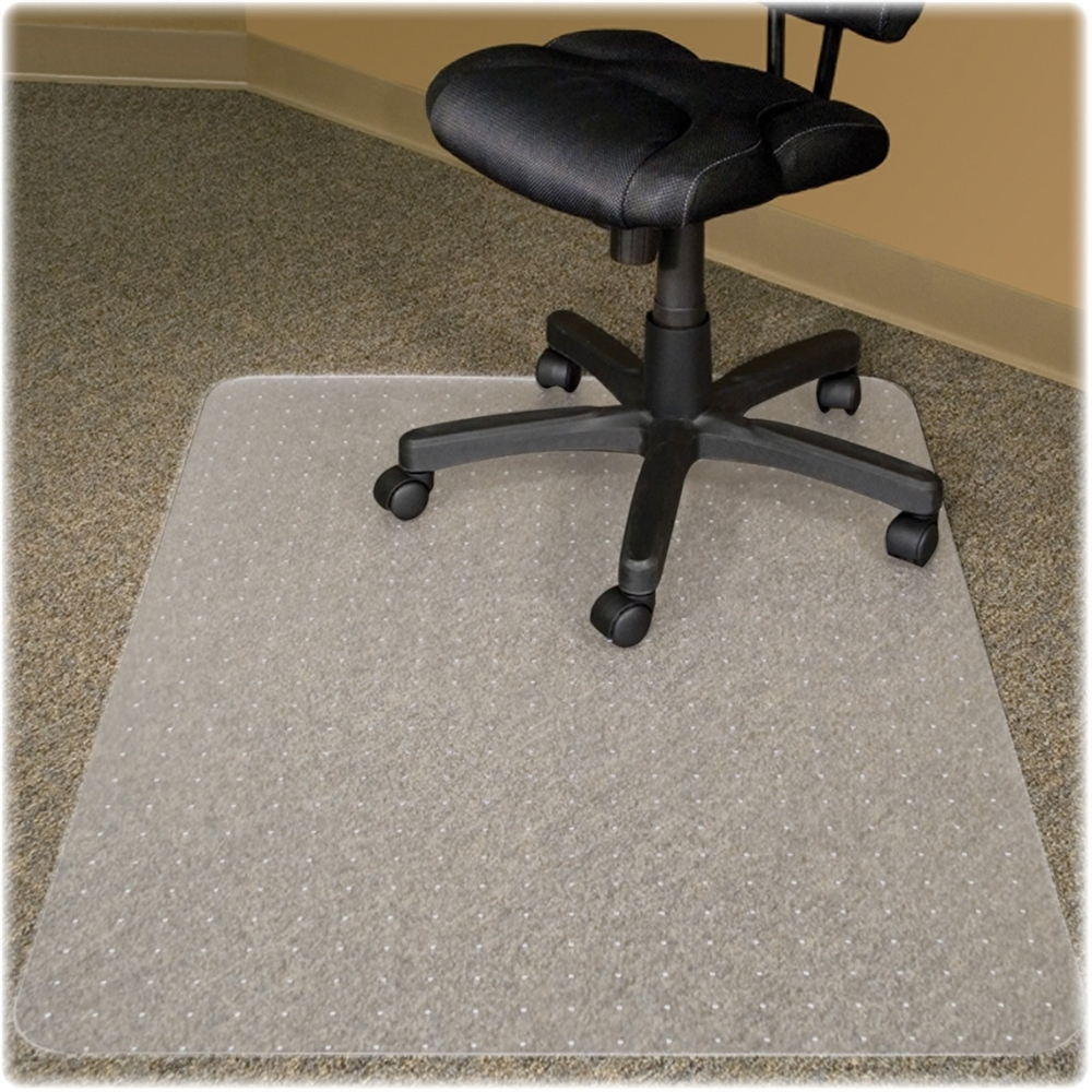 advantus gripper cleats no lip recycled chairmat carpet 46 width