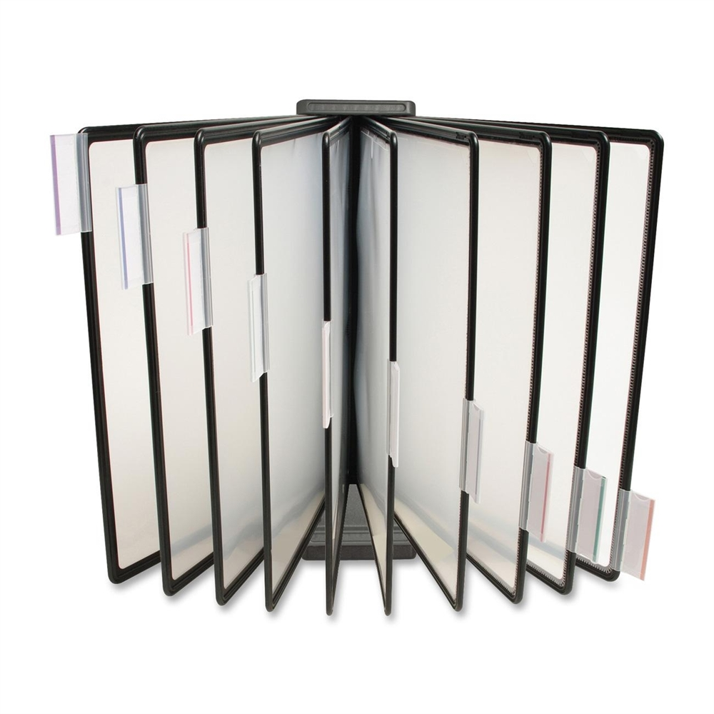 Business Source Basic Wall Dsktop Catalog Display Rack